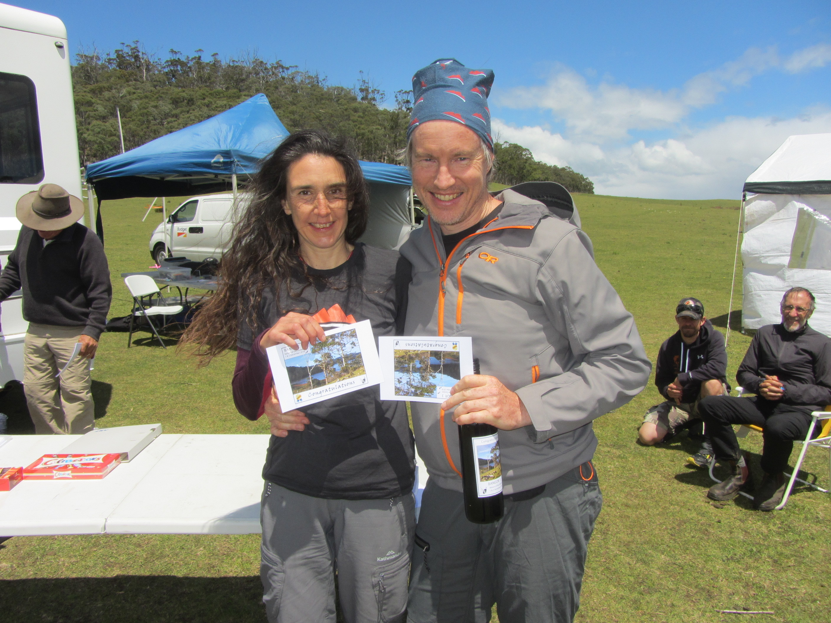 24hr event winners Toni Bachvarova and Andrew Smith
